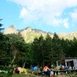 テント泊初心者におすすめ!八ヶ岳の「赤岳鉱泉」はまさに山中のオアシス
