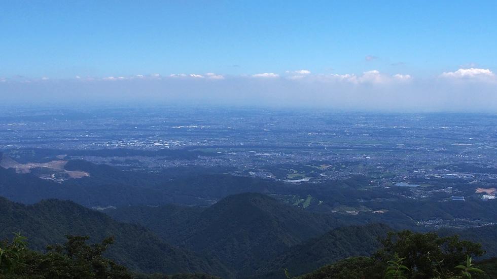 大山山頂から最高の景色