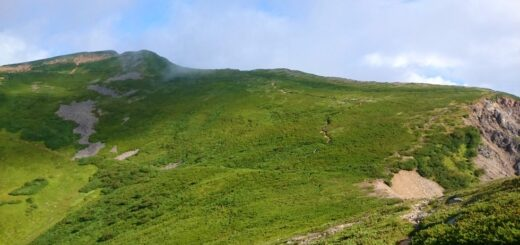 大天井岳への登山道