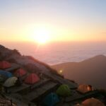 3日目:素晴らしい日の出を見て、燕山荘から中房温泉に下山する【常念岳~大天井岳~燕岳縦走テント泊】