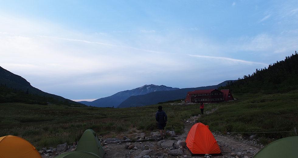 テント場で快適に過ごすために確認すること