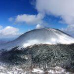 12月厳冬期、雪の黒斑山から浅間山を見た!【日帰り登山】