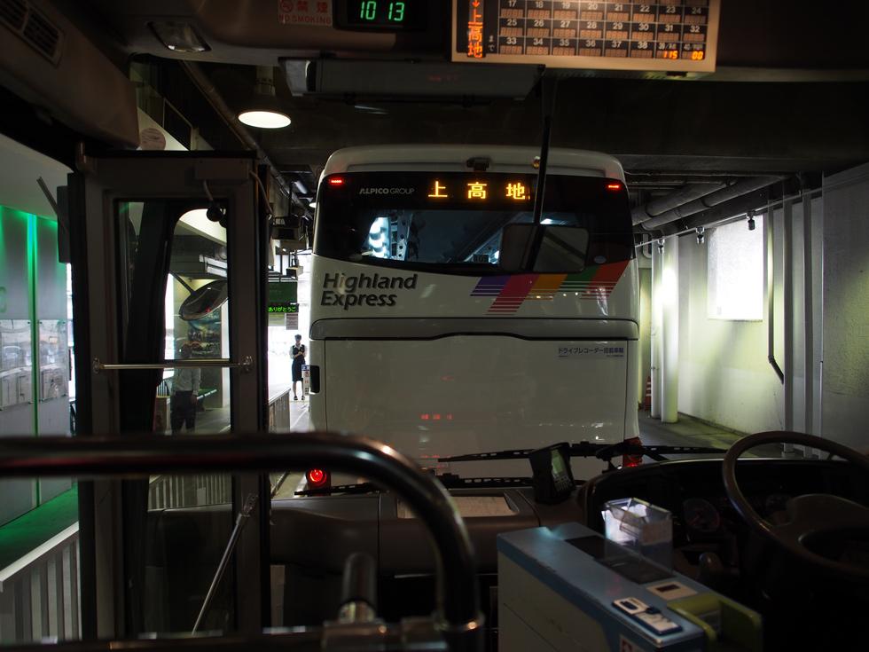上高地 松本バスターミナル