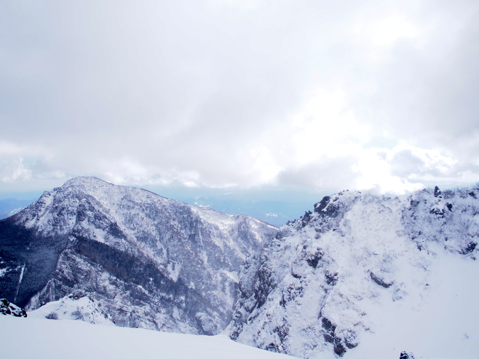 黒斑山登山