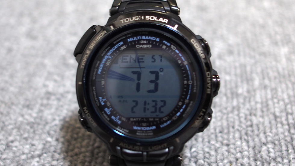 CASIO 腕時計 PROTREK プロトレック MANASULU PRX-2000LC-