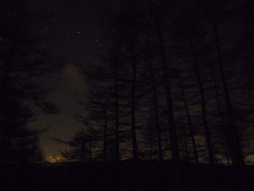 雲取山の星空