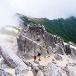燕岳に挑戦!初めての北アルプス燕山荘テント泊登山(1泊2日)
