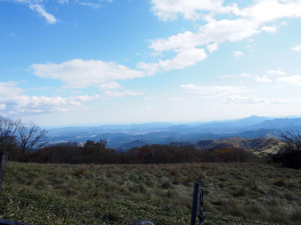 大山山頂から見る関東平野