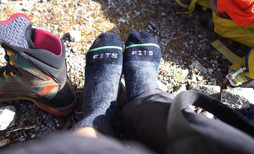 登山靴下の選び方
