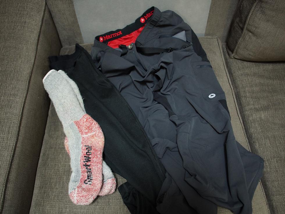冬山テント泊の下半身服装
