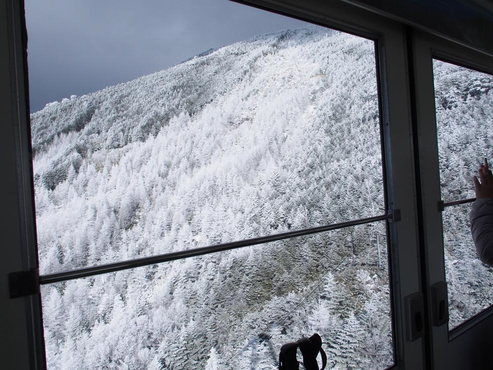 北八ヶ岳ロープウェイから見る景色