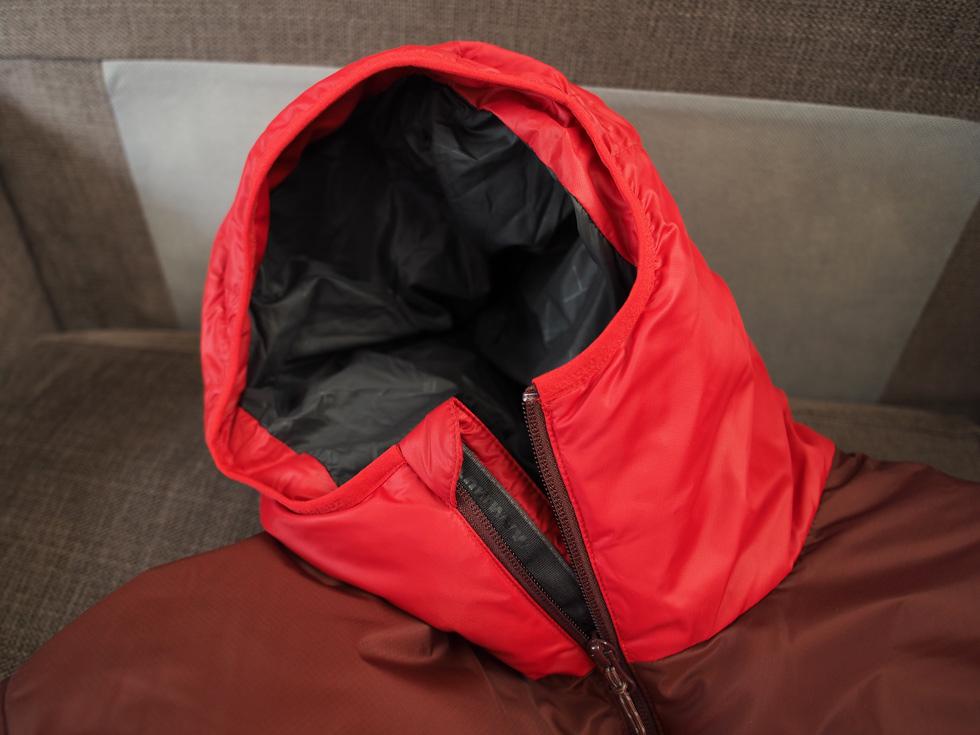 マムートのダウンジャケット