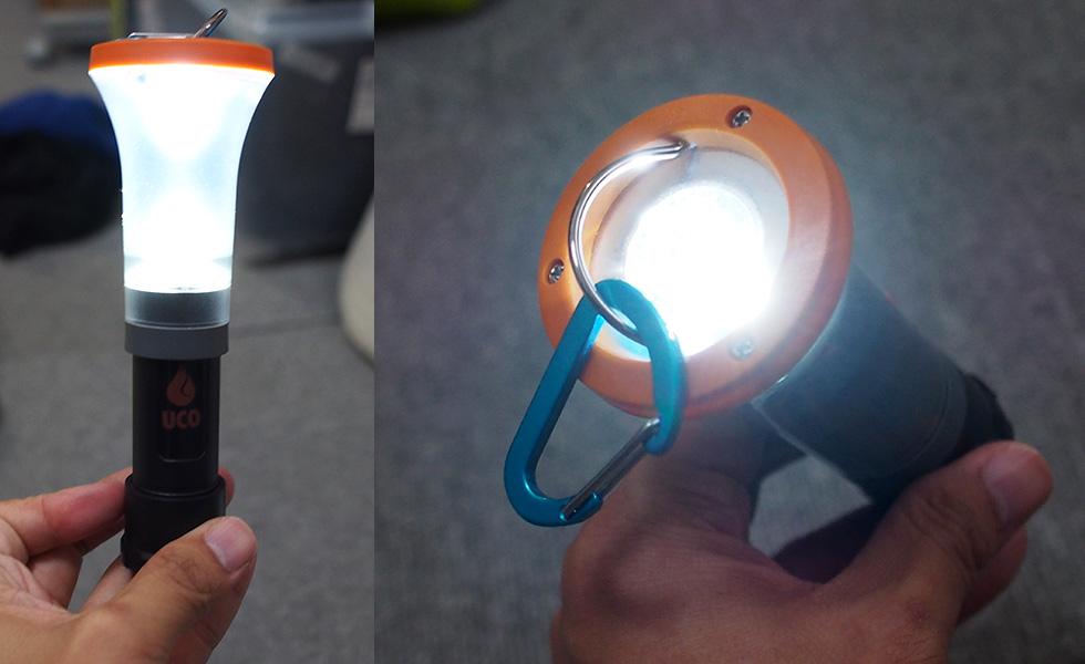 電池式ランタン