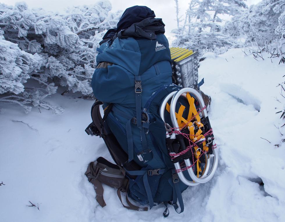バルトロ65 冬季テント泊
