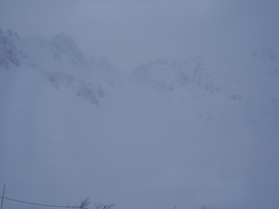 雪の千畳敷カール
