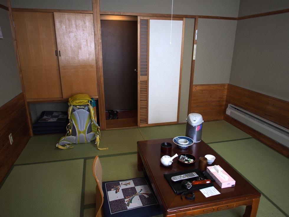 ホテル千畳敷のお部屋
