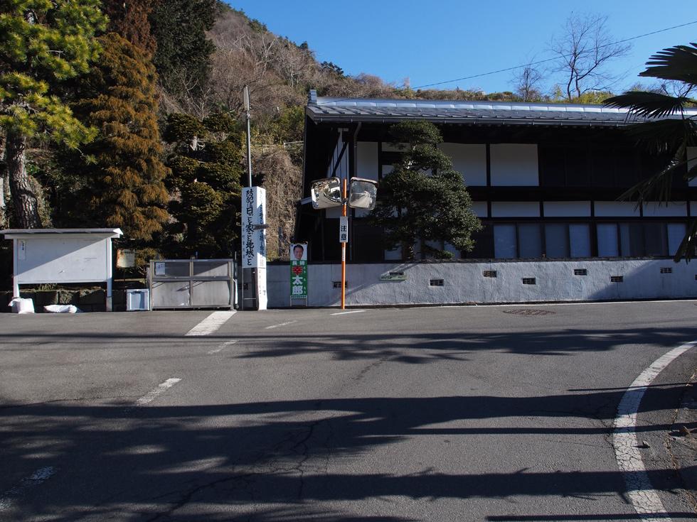 笹子駅から滝子山に向かう