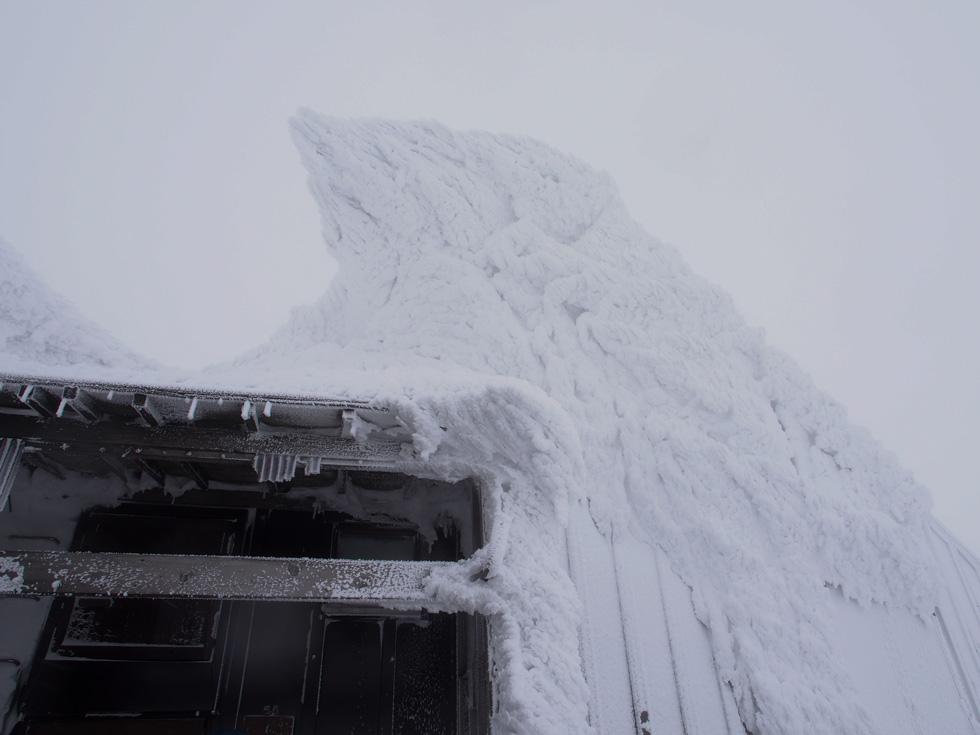谷川岳の肩の小屋