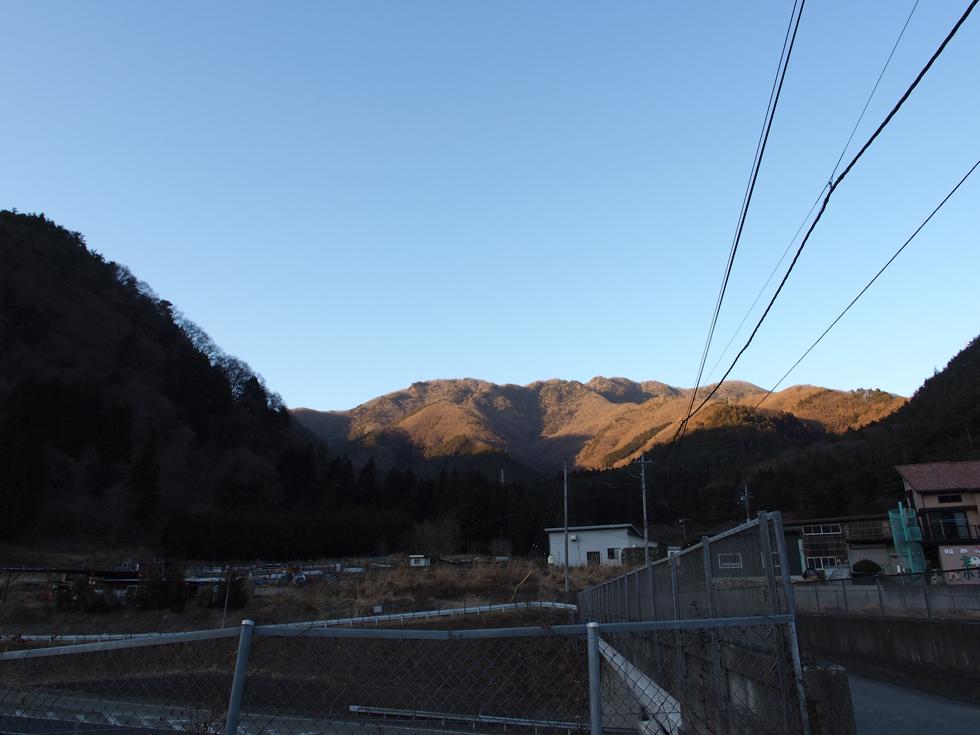 滝子山 夕焼け