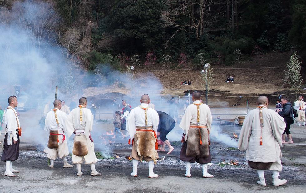 高尾山 火渡り祭