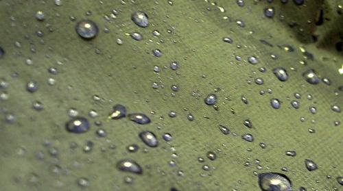 レインウェアの透湿性能