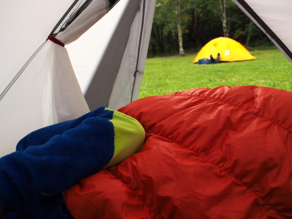 テント泊の服装について