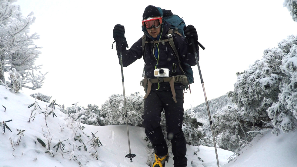 登山の服装 厳冬期・積雪期