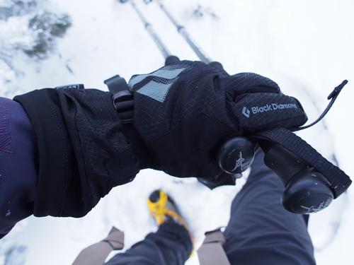 厳冬期の登山グローブ