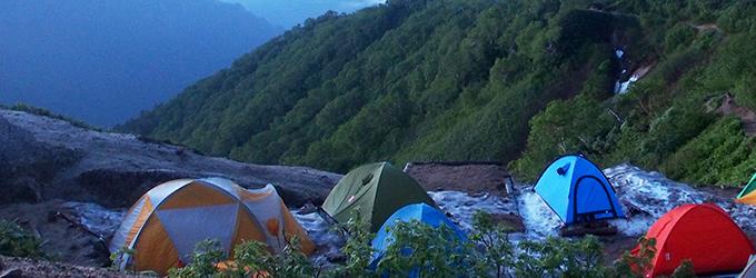 初めてのテント泊