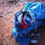 登山のパッキングのコツ – 重いものは背中側・袋を使った工夫
