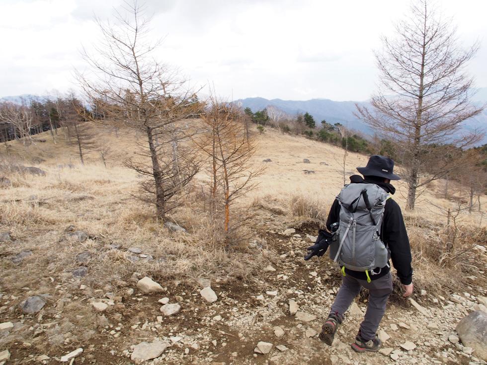 乾徳山を道満山経由で下山する