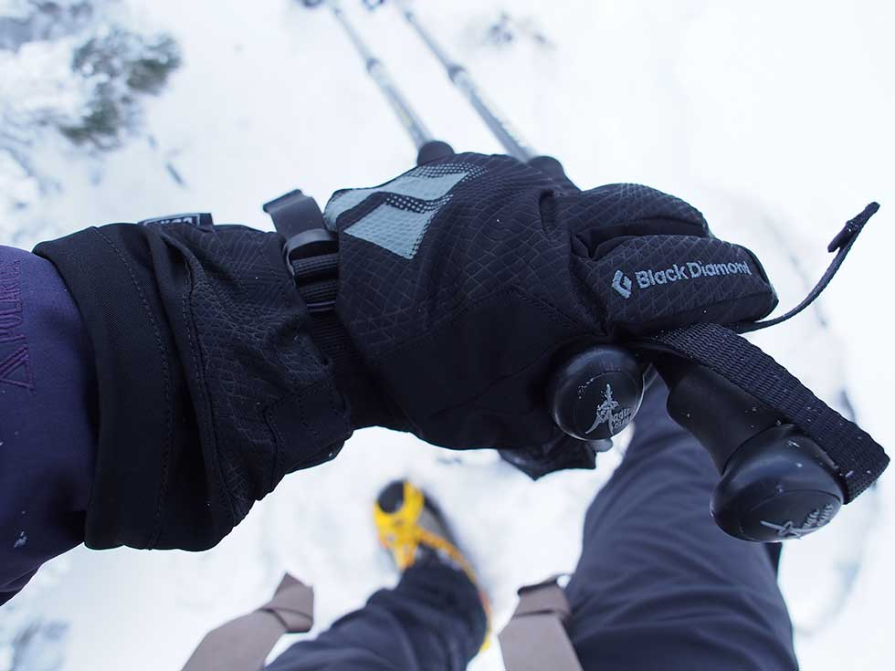 登山グローブの選び方 冬季には必須