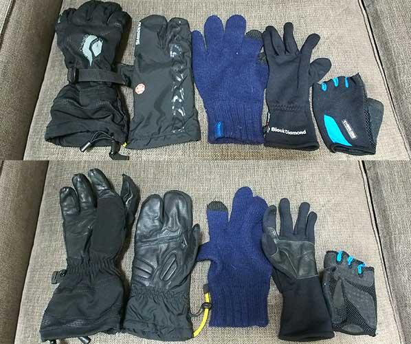 登山グローブ(手袋)の選び方