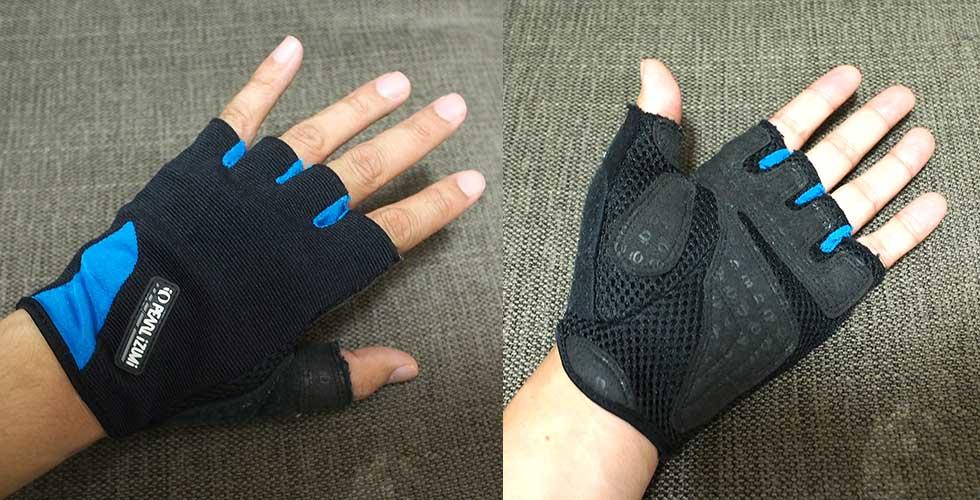 登山グローブの選び方 指なし手袋