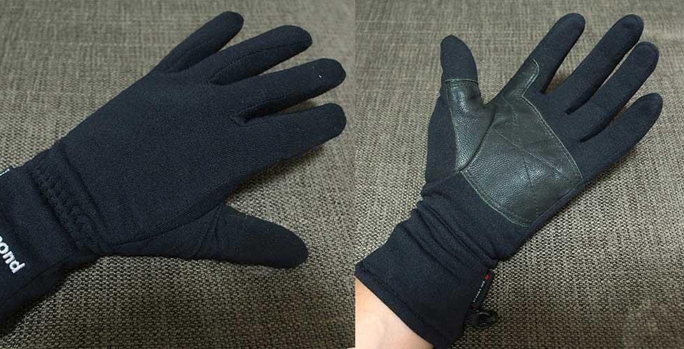 登山用の手袋の選び方