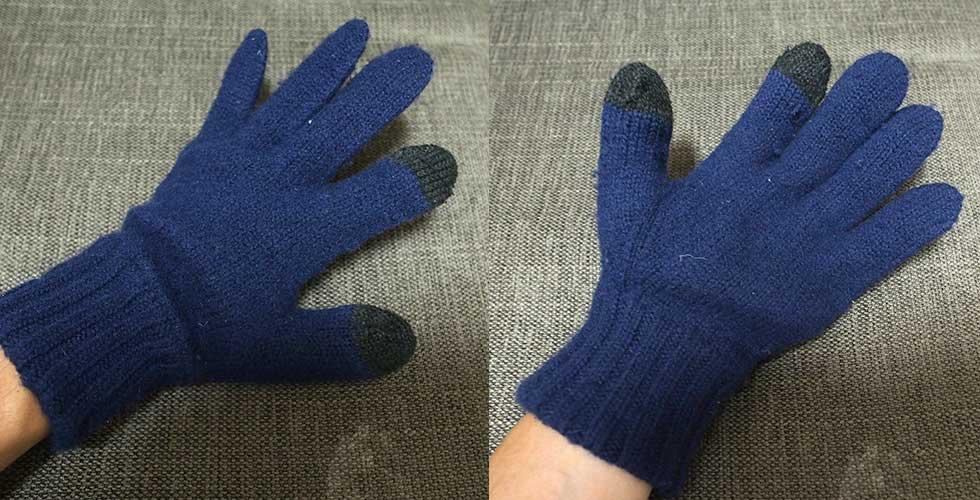 登山の手袋の選び方 ウール手袋