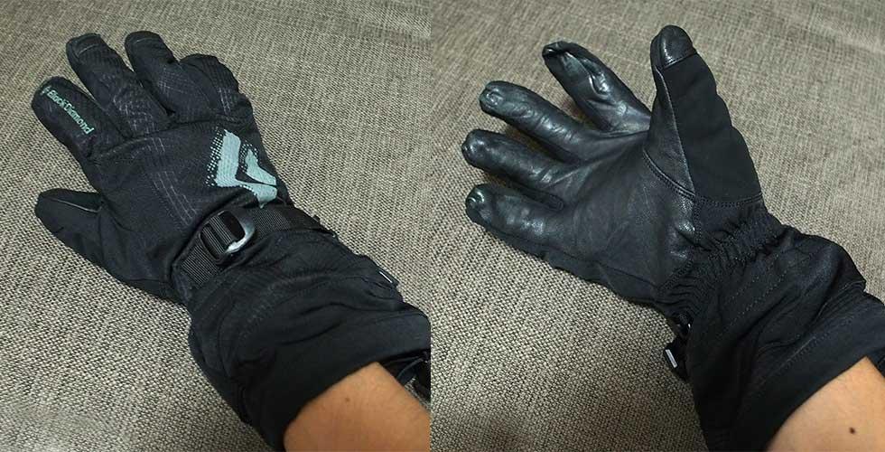 登山用の手袋の選び方 厳冬期