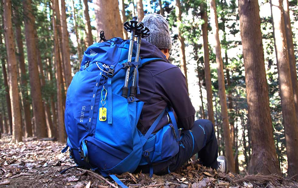 登山リュックの選び方 サイドポケット