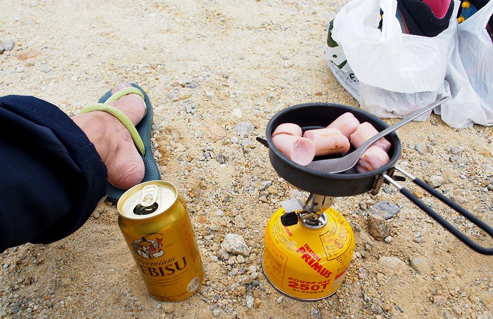 登山食 魚肉ソーセージ