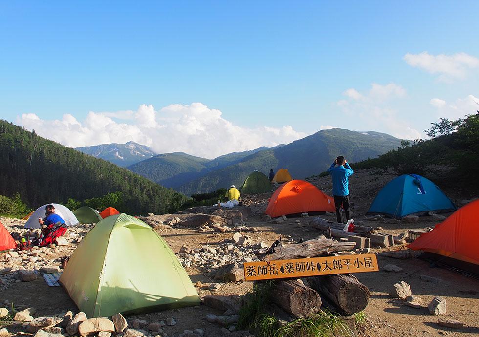 薬師沢キャンプ場