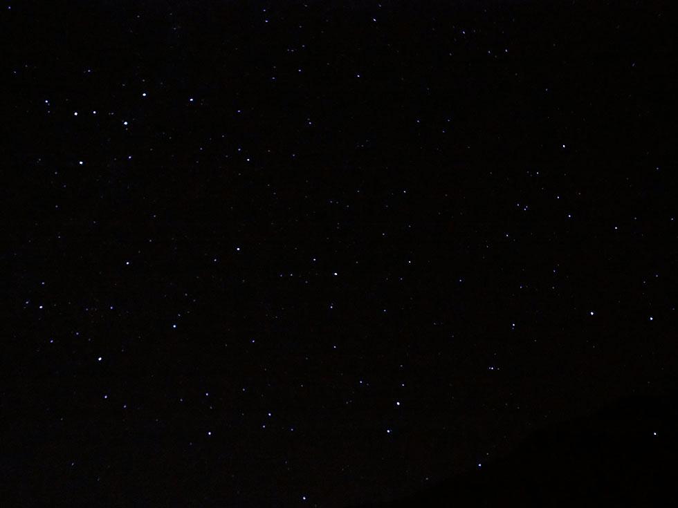 立山 満点の星空