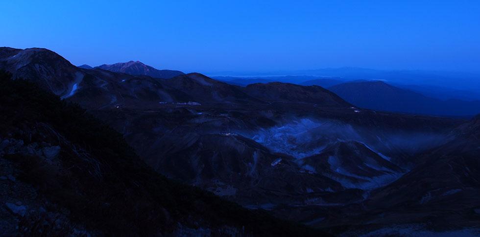 トワイライトの立山