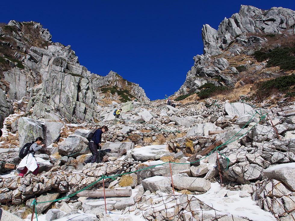 木曽駒ヶ岳 登山