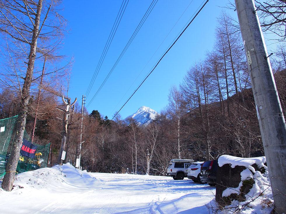 雪の八ヶ岳 みやのこ村