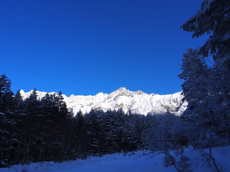 雪の八ヶ岳 横岳