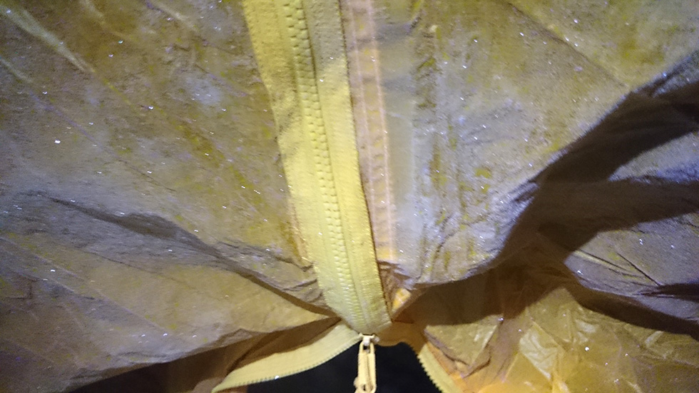 冬季テント泊の失敗談