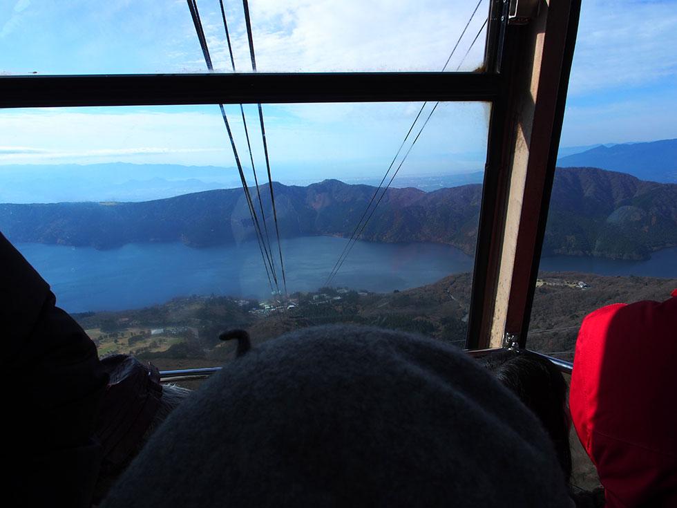 箱根の駒ケ岳 ロープウェイ