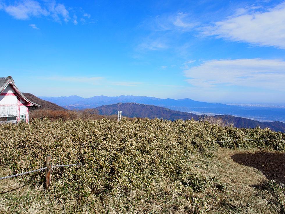 箱根の駒ケ岳から富士山を見た