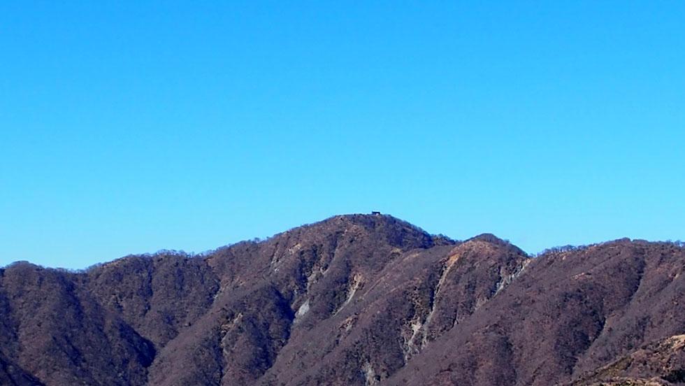 三ノ塔から見る塔ノ岳