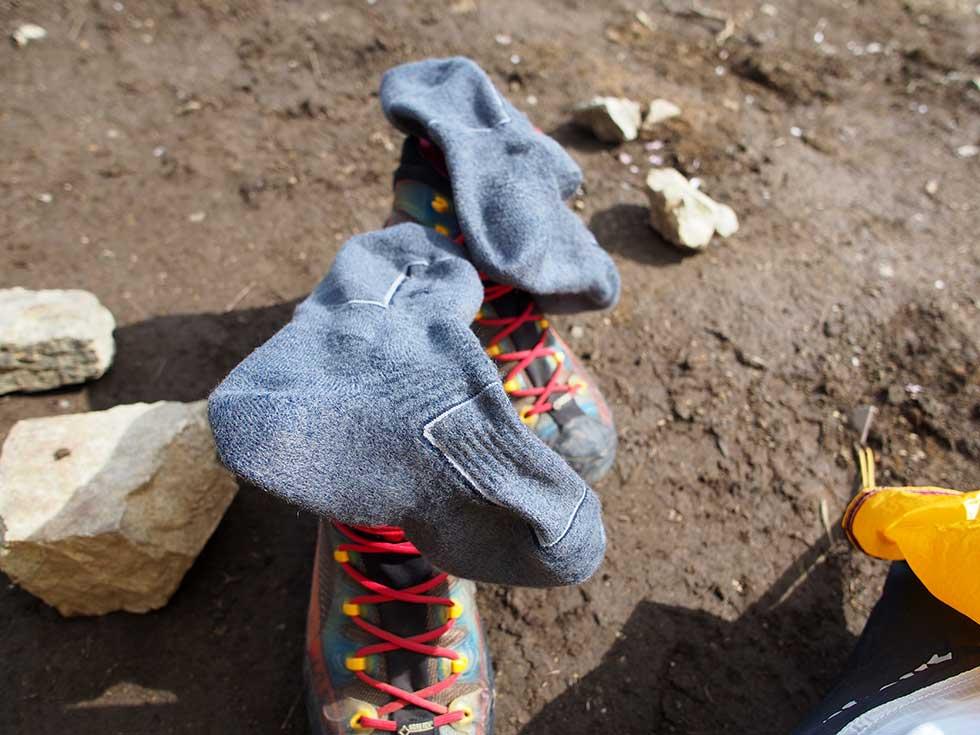 ファイントラックの靴下 メリノスピンソックス